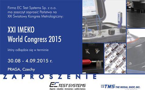 IMEKO zaproszenie 1 1 - XXI IMEKO WORLD CONGRESS 2015