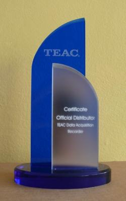 teac - FIRMA EC TEST SYSTEMS OFICJALNY DYSTRYBUTOREM SYSTEMÓW AKWIZYCJI DANYCH TEAC.