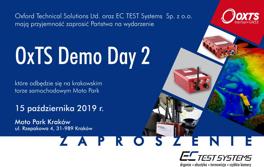 Demo Day OxTS 15 10 2019 1 1024x646 - OXTS DEMO DAY 2: LIDAR - INTEGRATION & SURVEY AND MAPPING