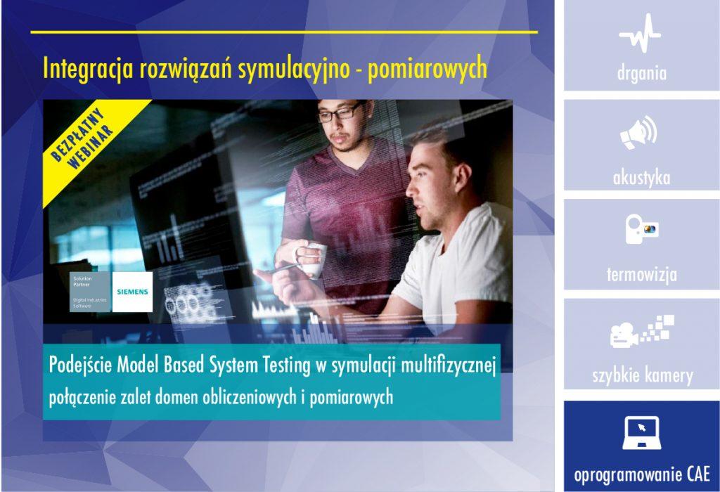 webinar integracja 3 1024x700 - Podejście Model Based System Testing w symulacji multifizycznej połączenie zalet domen obliczeniowych i pomiarowych