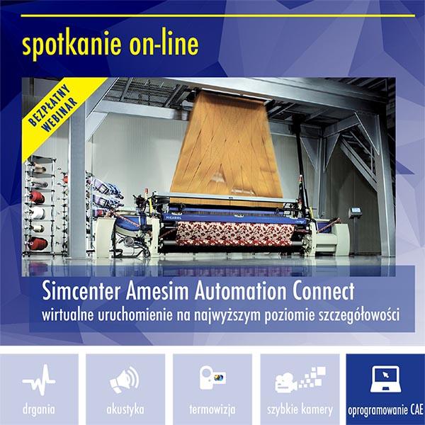 Automation Connet3 - Simcenter Amesim Automation Connect – wirtualne uruchomienie na najwyższym poziomie szczegółowości