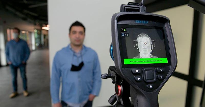 nowe kamery termowizyjne covid19 badanie - ECTS Newsletter 2020